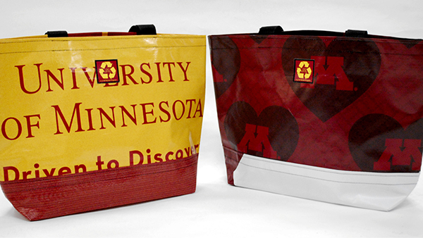 University of Minnesota reuse tote bags