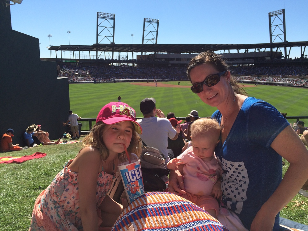 Spring training at Salt River Fields