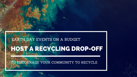 Host a recycling drop-off