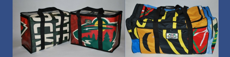 Minnesota Wild hockey bags