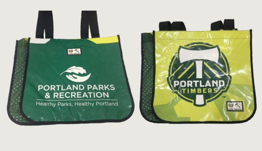 portland timbers earth day bags
