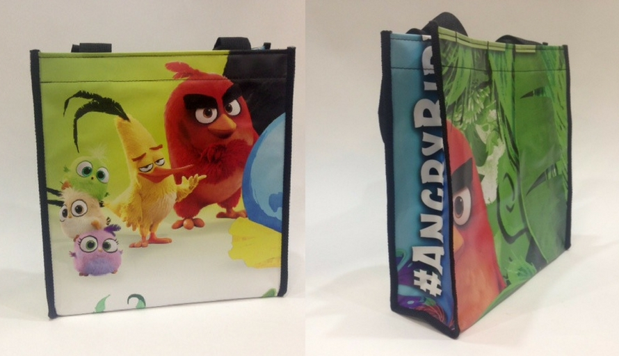 sony angry birds earth day totes