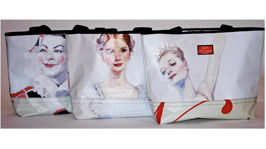 relan boston ballet tote bag