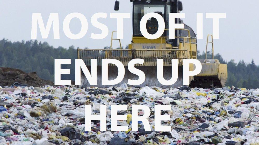vinyl billboard landfill