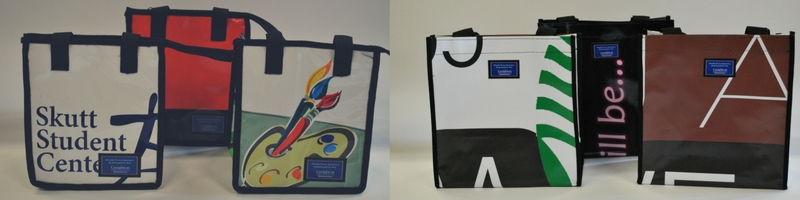 creighton university repurposed bags