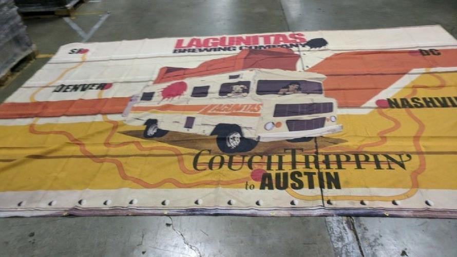 Lagunitas Brewery banner