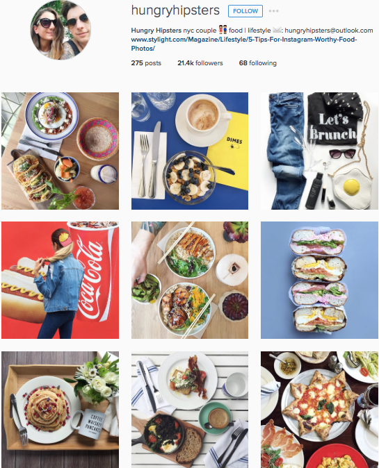 Instagram accounts for nomads music lovers foodies to follow for one im a foodie and a hipster so it fits if you are looking for food and style ideas hungry hipsters is a channel ive fallen in love with forumfinder