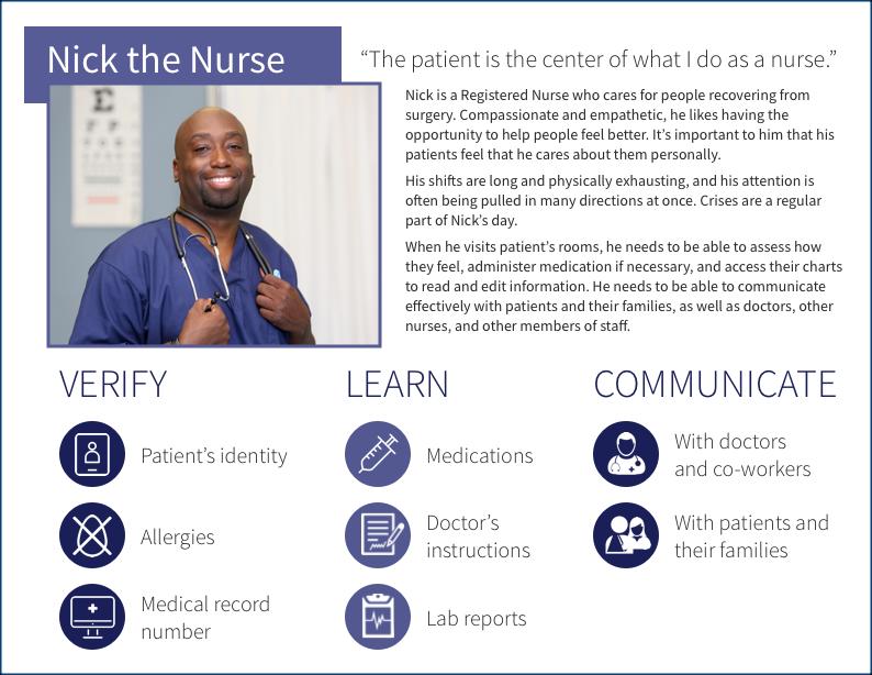Nurse persona