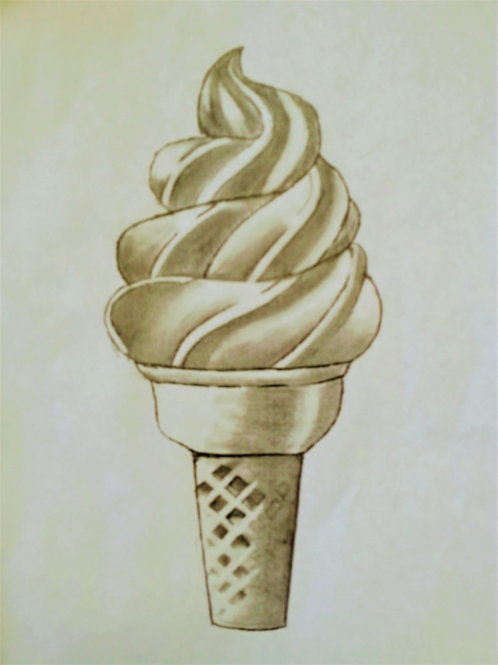Jessica_IceCream_Pencil_Sepia 2017_1.jpg