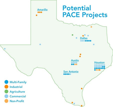Potential PACE Projects in Texas