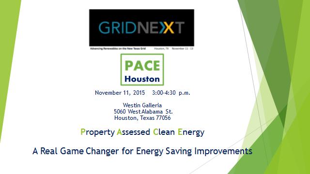 GRIDNEXT Conference November 11, 2015