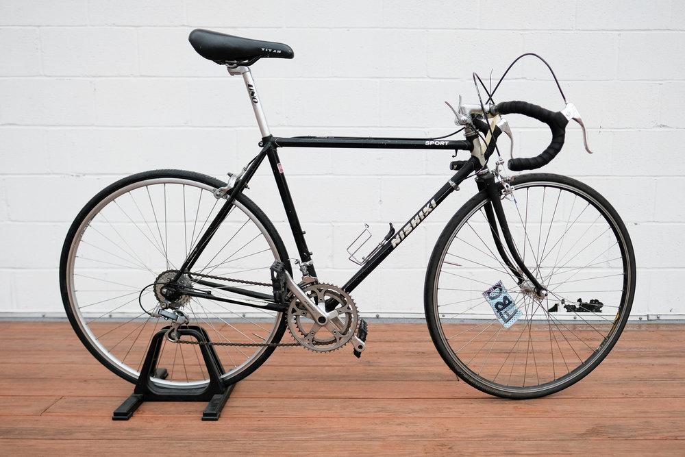 53cm Black Nishiki Sport - $200