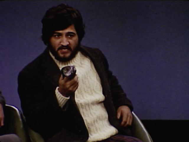 John Belushi as an environmentalist in the Sodbusters episode