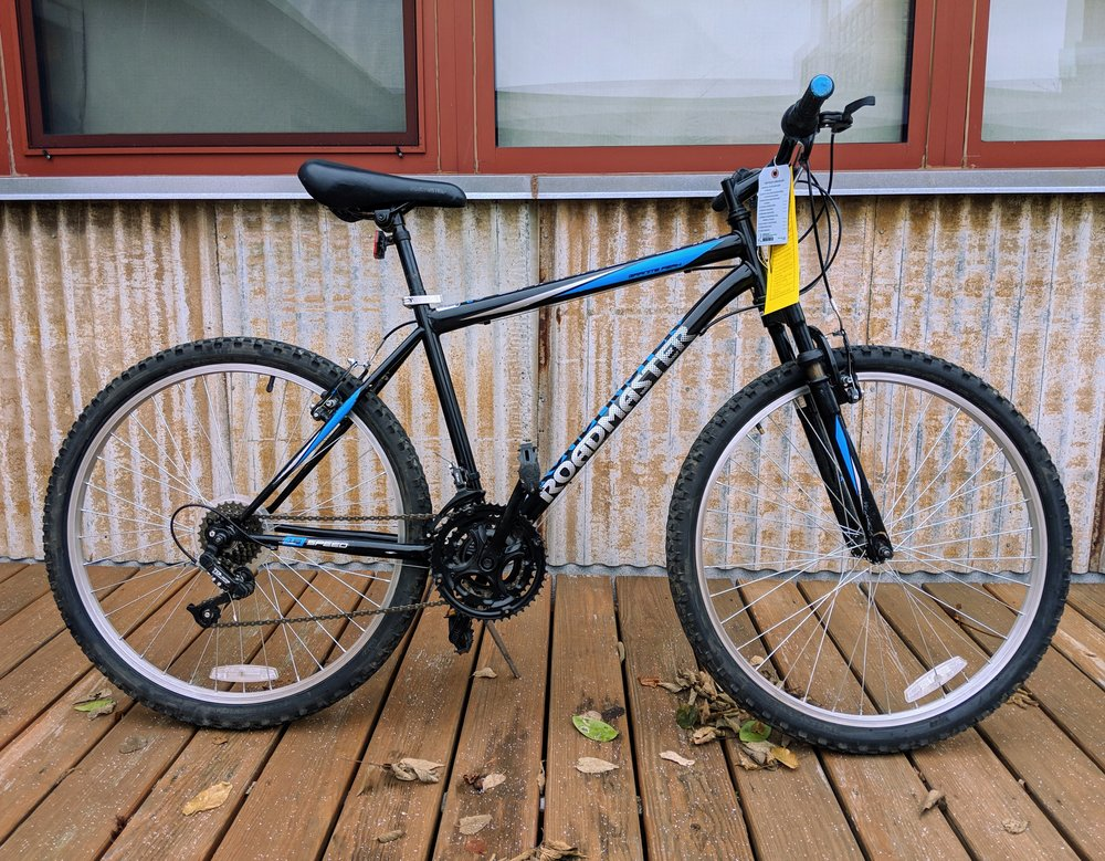 46cm Black Roadmaster 18 Speed $230