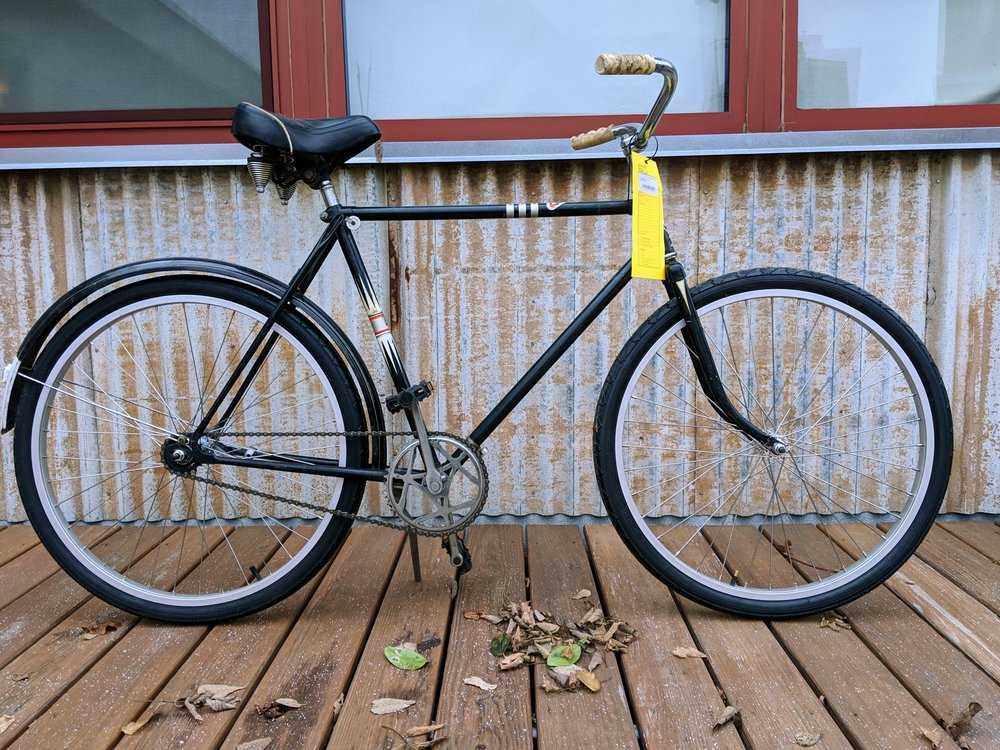 54cm Black Sears Single Speed $260
