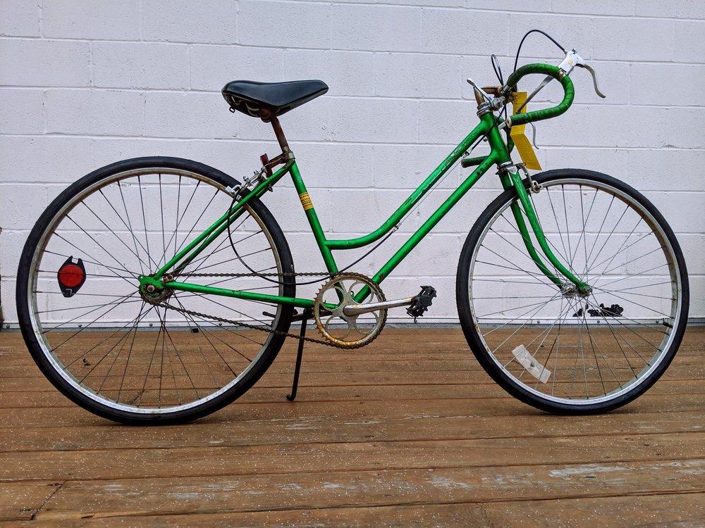 44cm Green Schwinn Single Speed $175