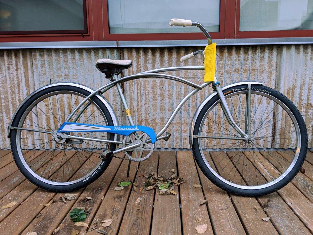 46cm Silver Monark Cruiser $200