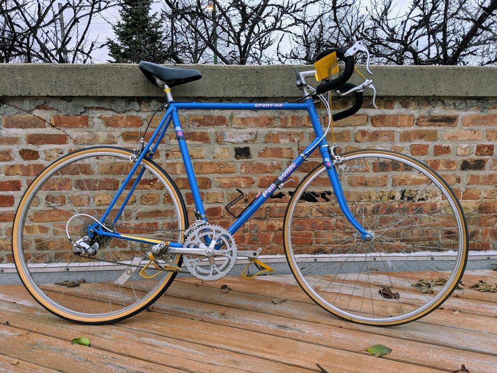 62cm Blue Panasonic Sport DX $280