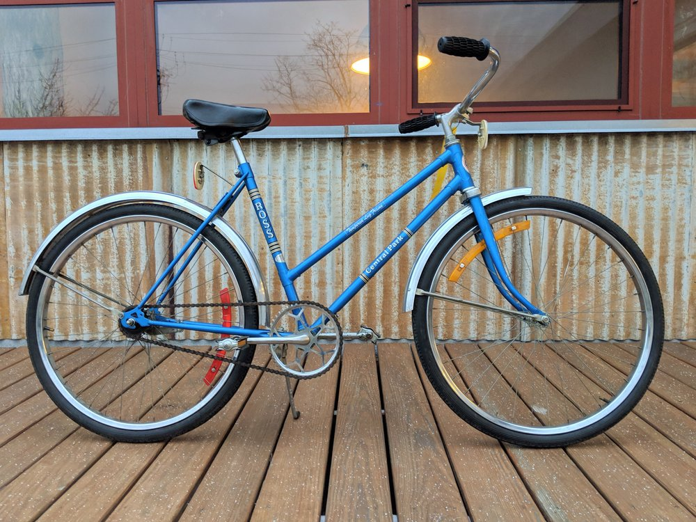 50cm Blue Ross Central Park Single Speed $225