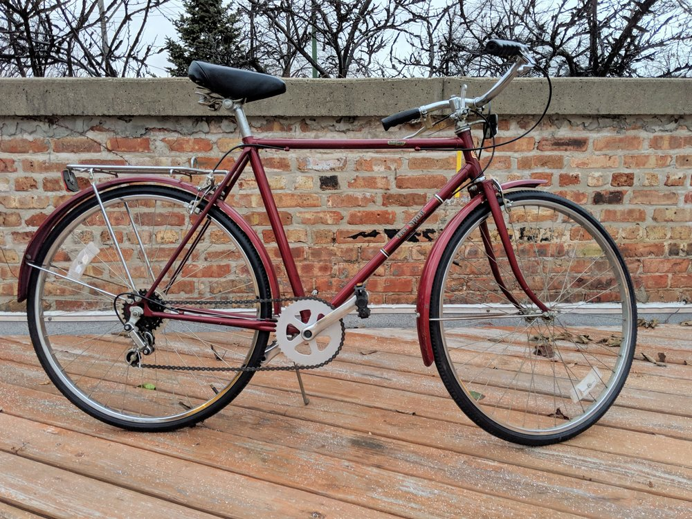 52cm Wine Red Free Spirit $200