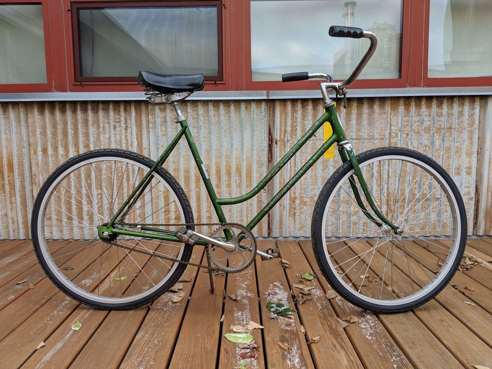 52cm Green Chicago Schwinn $200