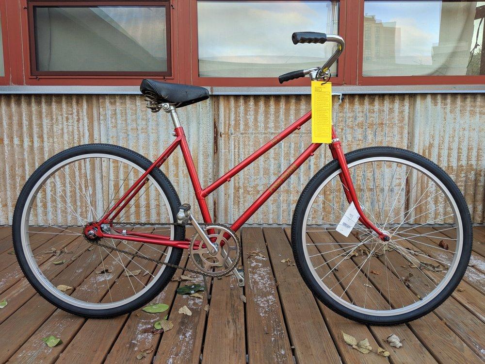 46cm Red Free Spirit Cruiser $225