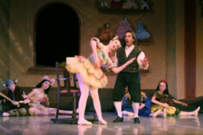 """Coppelia"" featuring Jillian Slade and Doug Mackie"