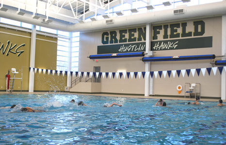 Schools competition pools ramaker associates for Rogers high school swimming pool