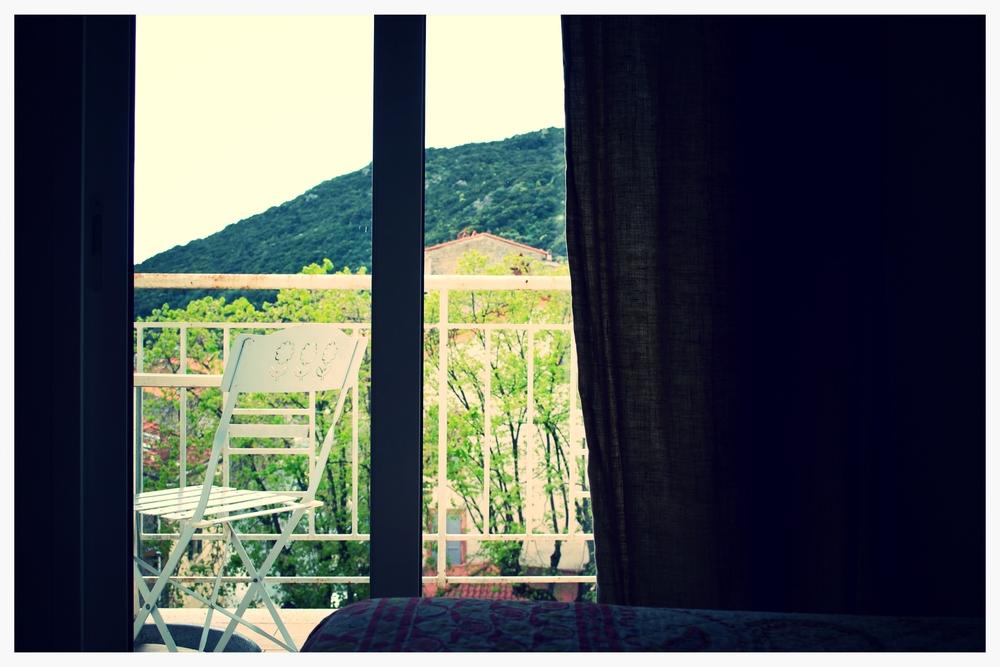 hotel aiglon olmeto - terrasse