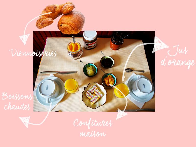 hotel aiglon olmeto - petit déjeuner