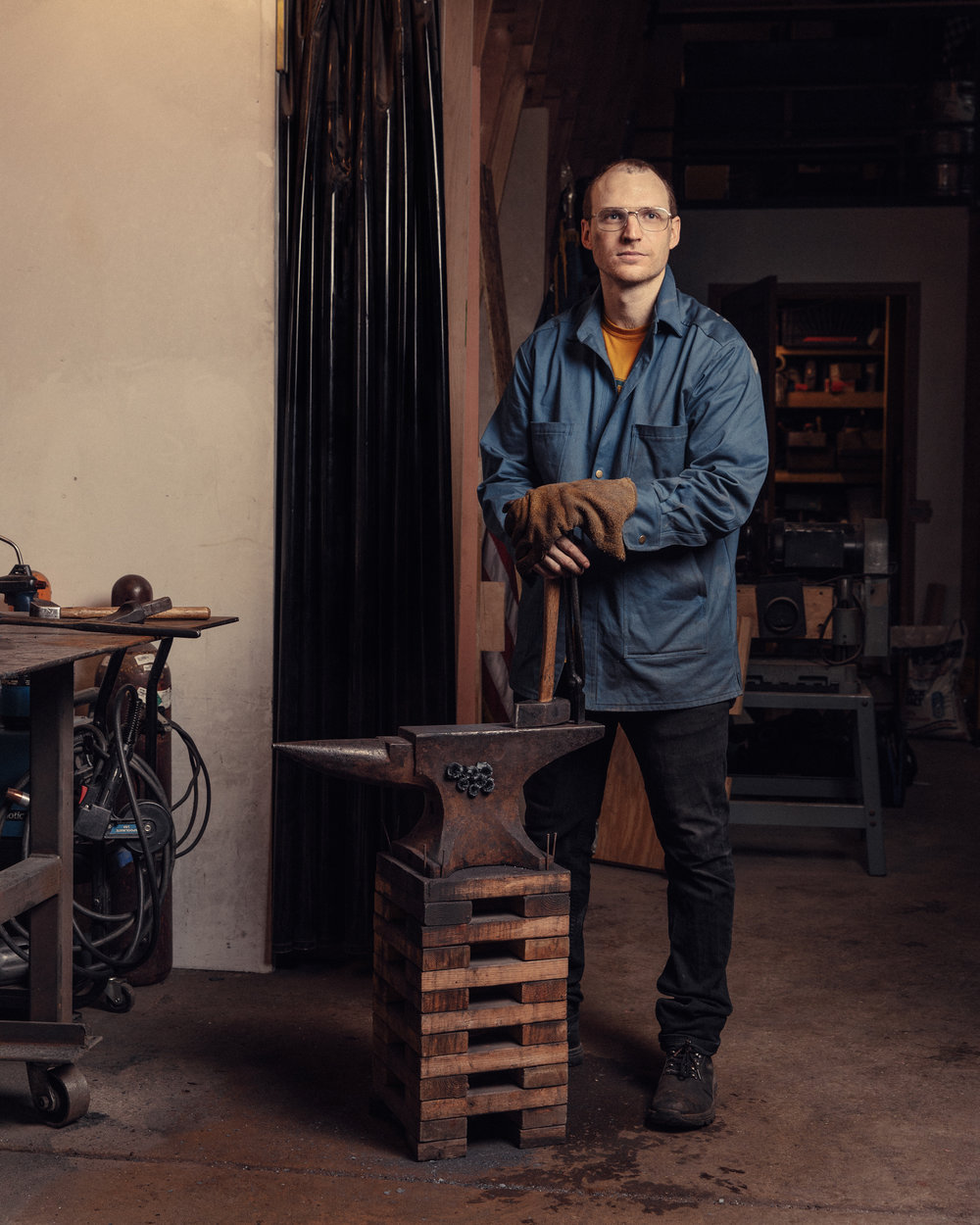 - Will Griffin was born on Bainbridge Island, Washington.  He has spent the last decade cooking professionally in NYC and studying the beauty and functionality of handmade kitchen knives.  He forges his blades by hand and crafts his knives one by one from superlative materials in Red Hook, Brooklyn