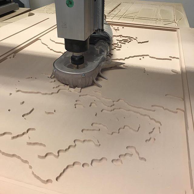 3D Topo Rough Cut