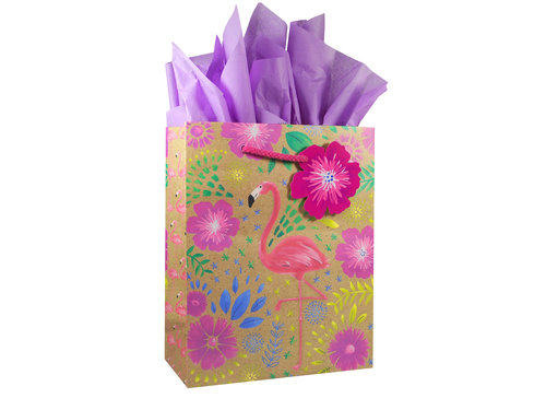 Flamingo Gift Bag (6 Count) — SampleHouse dc4a00b39