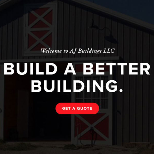 AJ BUILDINGS LLC SITE