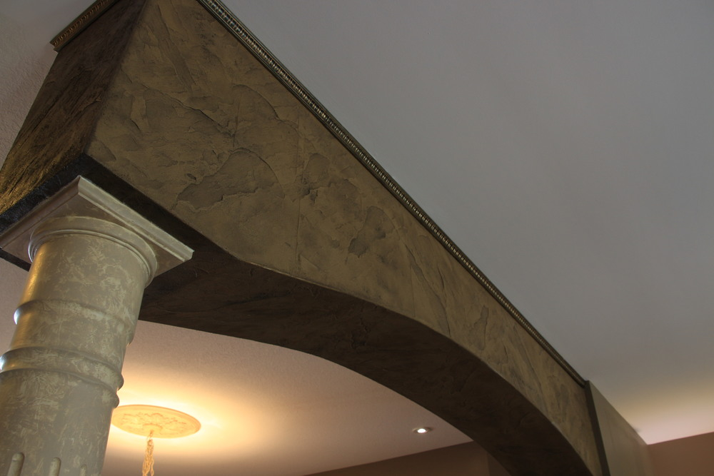 Indoor Concrete Arch