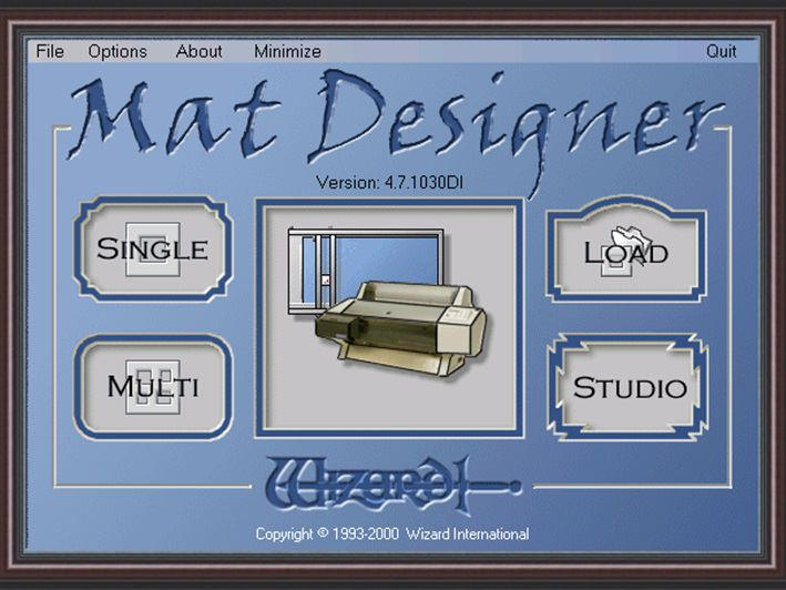 1999 - Wizard's Mat Designer™ software is released, and the first CMC is introduced into Australia.