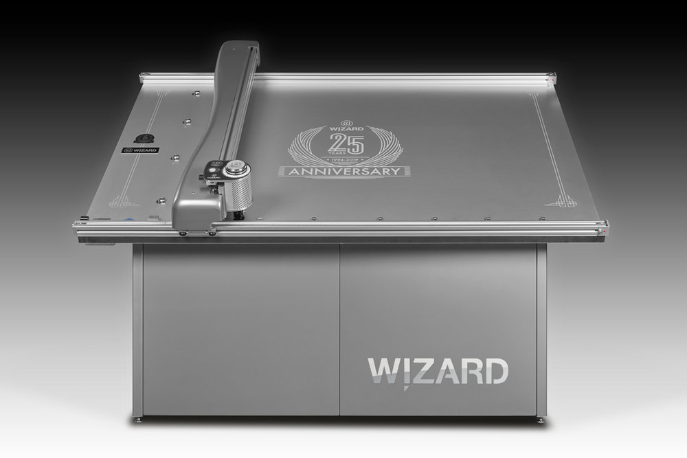 "2019 - Wizard celebrates 25 years in business and over 10,000 CMCs placed into service by creating a one-of-a-kind ""Silver Anniversary Special Edition"" of the Wizard 9000z. (This machine was given away to one lucky customer at a 25th Anniversary party given to honor Wizard's loyal customers.)"