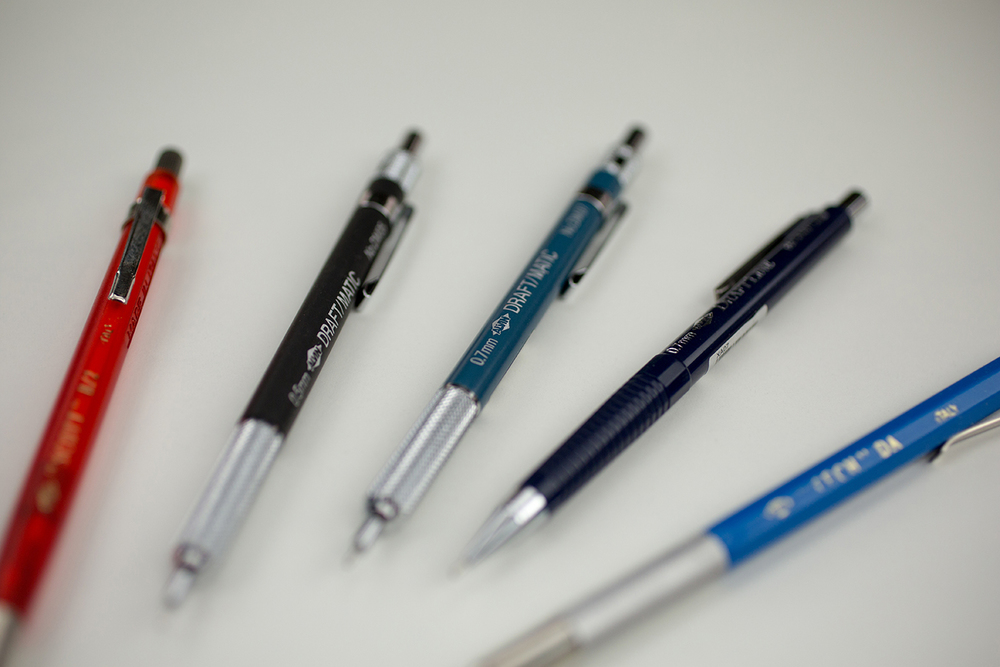 Alvin® Draft-Matic Mechanical Pencils & Lead Holders