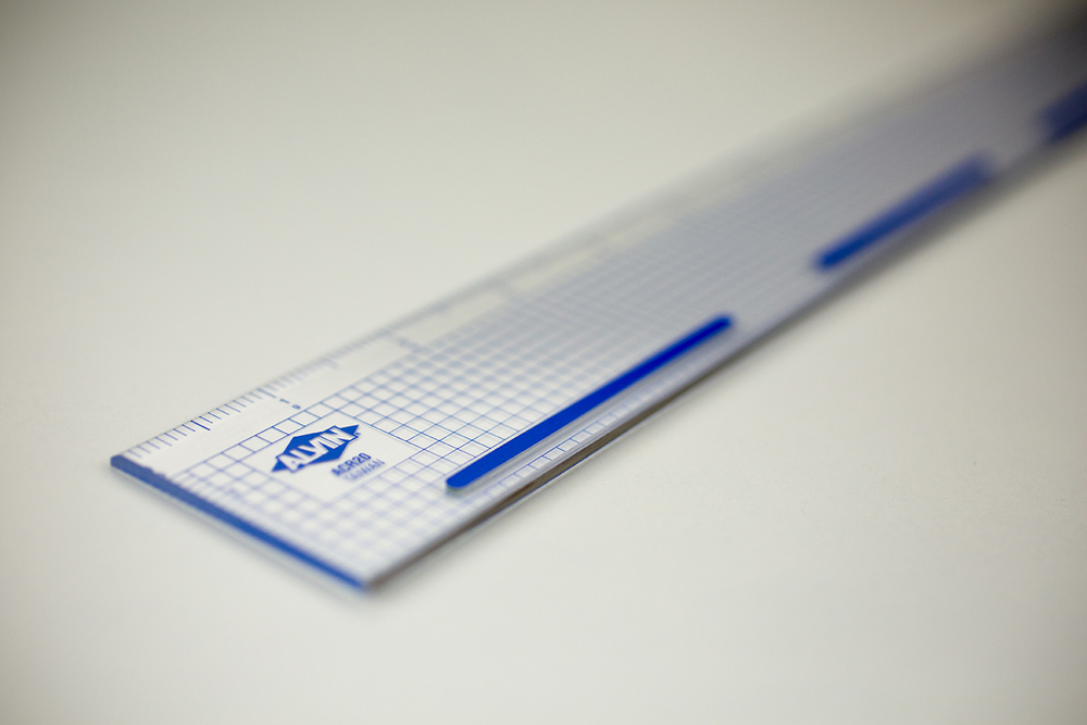 "Alvin® 20"" Cutting Edge Ruler Item No. ACR20"