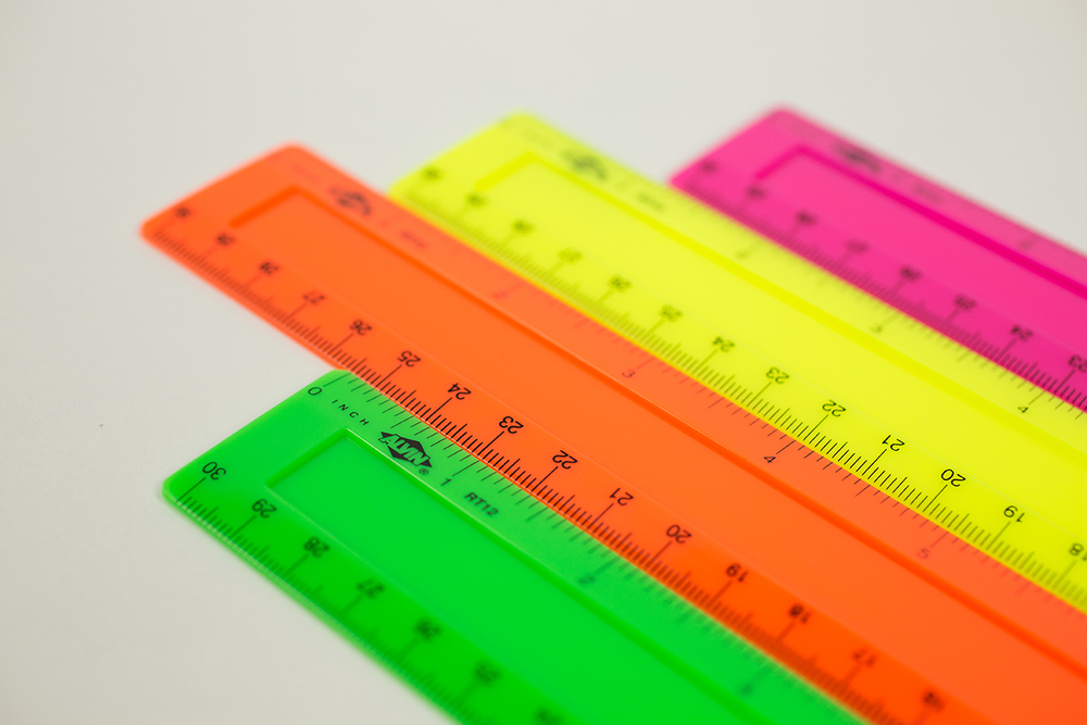 "Alvin® 12"" x 1 1/4"" Plastic Ruler Item No. RT12"