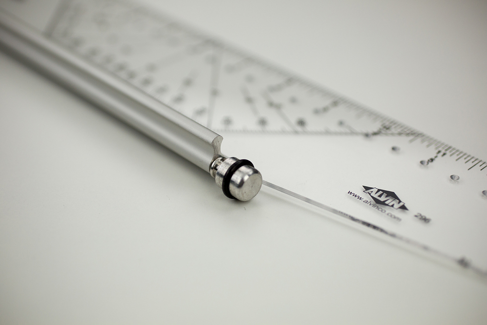 "Alvin® 12"" Rolling Parallel Ruler Item No. 312"