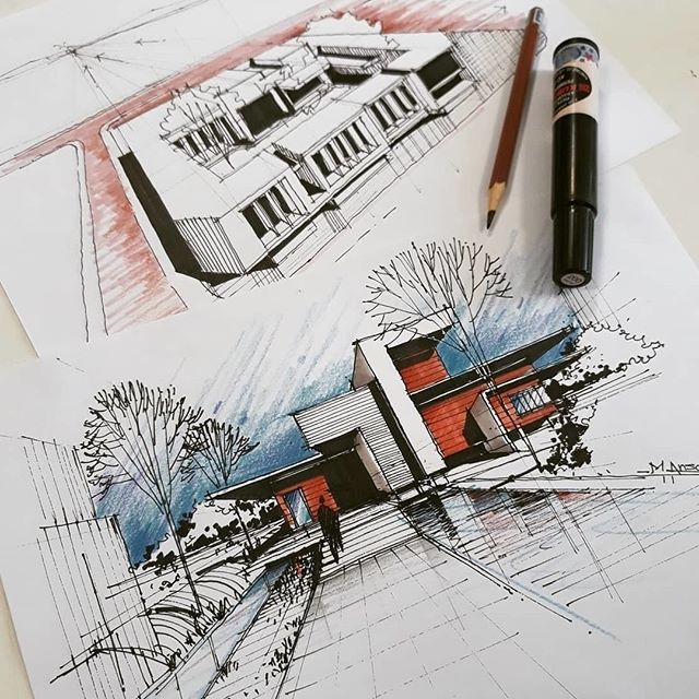 #Repost from @m.ansari.architect . . . #alvindrafting #draftingtools #drafting #draft #draw #drawing #drawingtools #architect #architecture #architecturestudent #architecturedrawing #architecturedesign #architecturesketch #render #rendering #architecturerendering #sketch #sketching #sketchingtools #sketchbook #art #artist #architectural #architectsofinstagram #design #designer #architecturestudent