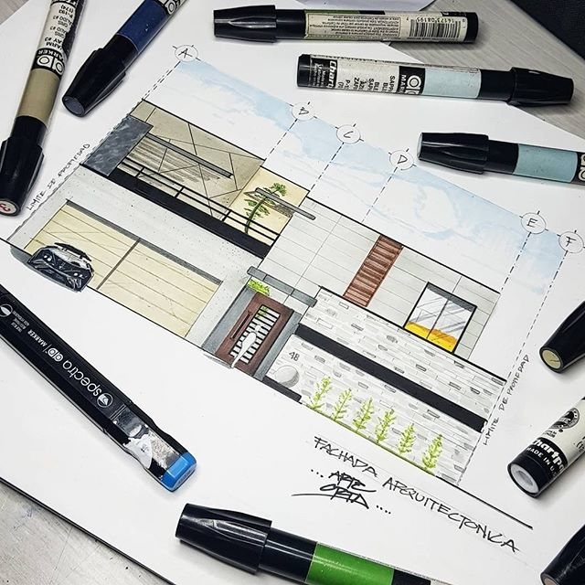 #Repost from @arte.orta . !VAMOS A EQUIVOCARNOS ! Work by: arte.orta . . . #alvindrafting #draftingtools #drafting #draft #draw #drawing #drawingtools #architect #architecture #architecturestudent #architecturedrawing #architecturedesign #architecturesketch #render #rendering #architecturerendering #sketch #sketching #sketchingtools #sketchbook #art #artist #architectural #architectsofinstagram #design #designer #architecturestudent