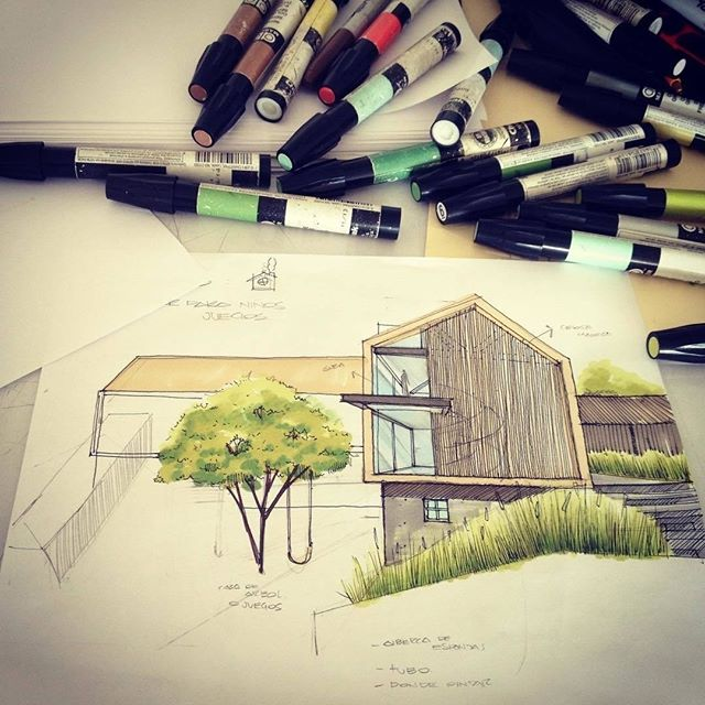 #Repost from @jorgevegarq . Ahora es un kínder #arqsketch @sketch_architect . . . #alvindrafting #draftingtools #drafting #draft #draw #drawing #drawingtools #architect #architecture #architecturestudent #architecturedrawing #architecturedesign #architecturesketch #render #rendering #architecturerendering #sketch #sketching #sketchingtools #sketchbook #art #artist #architectural #architectsofinstagram #design #designer #architecturestudent