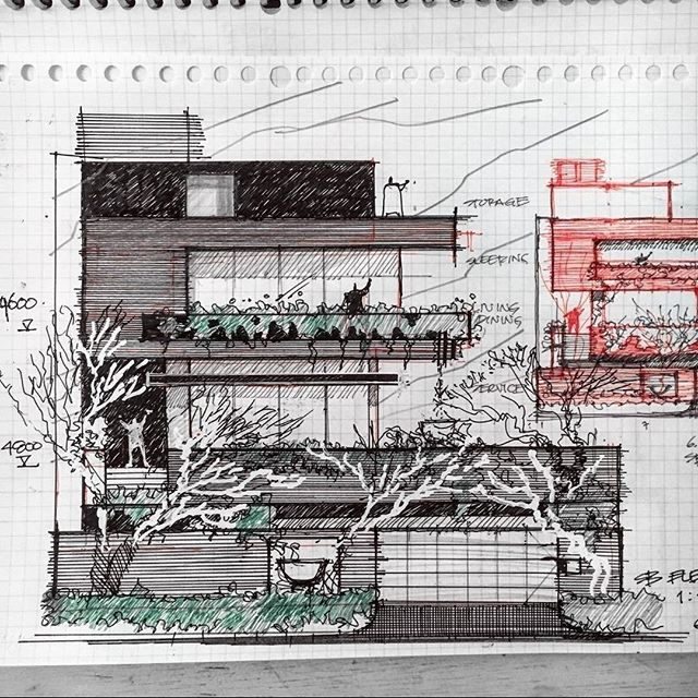 #Repost from @studiodanielarchitect . . . #alvindrafting #draftingtools #drafting #draft #draw #drawing #drawingtools #architect #architecture #architecturestudent #architecturedrawing #architecturedesign #architecturesketch #render #rendering #architecturerendering #sketch #sketching #sketchingtools #sketchbook #art #artist #architectural #architectsofinstagram #design #designer #architecturestudent