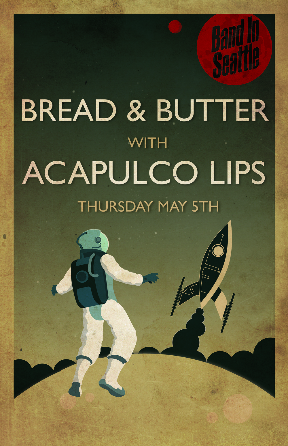 Bread & Butter with Acapulco Lips Poster