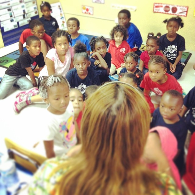 #FlashbackFriday #FBF The kids received a visit from Dr. Ginger the Dentist!