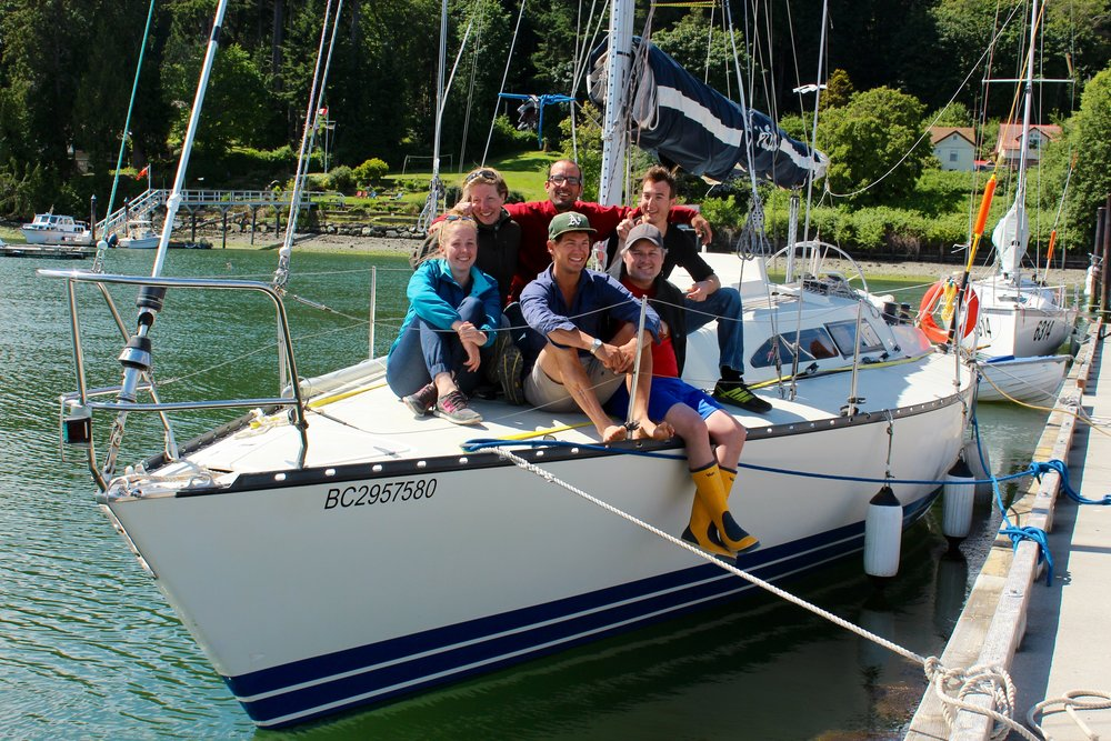 This year's Apprentices have been able to participate in some of the most exciting racing events in the Pacific Northwest- including our first big event on our new-to-us boat: the Round Salt Spring Race in May 2016.