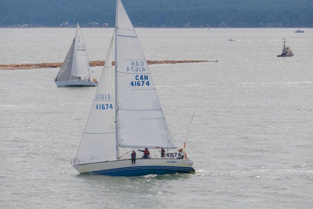 Sea to Sky Sailing's 2016 Round Bowen team