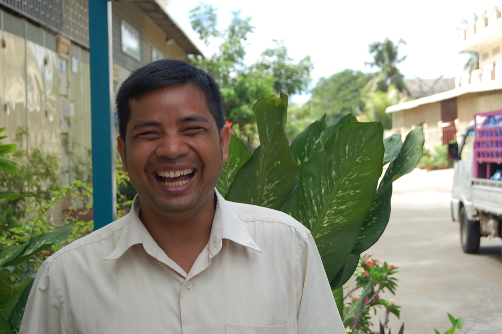 Yeng has been with Chab Dai Cambodia since it began in 2005.